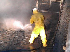 firma sprzątająca po pożarach